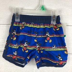 Disney Mickey Mouse infant swim trunks 6/9 months